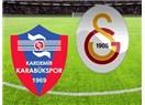 Galatasaray deplasmanda galip. Kardemir Karabükspor :1 - Galatasaray : 2