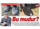Şehit Madenci babasının eski ve yeni ayakkabısı...