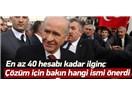 Devlet Bahçeli'den mezhepler arası barış önerisi: Yavuz İsmail!