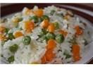 Havuç Rendeli Pirinç Pilavı