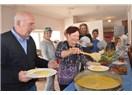 Bodrum Kemancı'da 'Kuymaklı'' kahvaltı keyfi