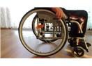 Tekerlekli sandalyeye kılıf