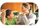Çocuğunuz yüksek sesle mi konuşuyor  ?