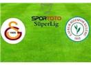 Normal bir sonuç. Galatasaray : 2 - Çaykur Rizespor : 0
