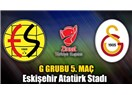 Galatasaray yine yenildi : Eskişehirspor : 1 - Galatasaray : 0