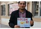 Denizli Pamukkale Üniversitesi öğrencisi Hasan Çimer ile...