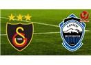 Galatasaray yine lider. Galatasaray : 3 - S.A.İ.Kayseri Erciyesspor :1