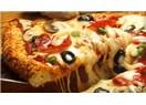 Zeytinli sucuklu karışık Pizza
