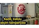 """CHP'nin kedili seçim kampanyası """"kedili"""" görselini beğendiniz mi?"""