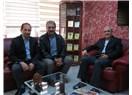 Milletvekili Fındıklı ve ÖZ'den MESOB Başkanı Şevket Keskin'e ziyaret
