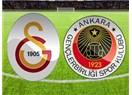 Galatasaray bayrağı bırakmıyor. Galatasaray: 1 - Gençlerbirliği:  0