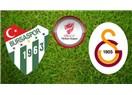 Kupa'da Galatasaray'ın. Bursaspor : 2 - Galatasaray : 3