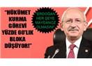 CHP'nin Koalisyon şartları...