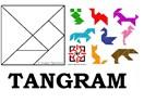 Şekil oluşturma oyunu Tangram