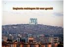 Ankara'da muhteşem bir eser yeri