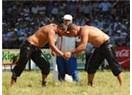 Kırkpınar güreşlerinin rövanşı Altınyayla'da