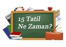 AKTOB Başkanı Hacısüleyman; SÖMESTRE VE YAZ TATİLLERİ BÖLGELERE GÖRE AYRILSIN...