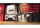 Mahmut Boz'a Antalya'da Beyaz Küre Turizm Ödülü