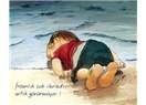 Balık gibi kıyıya vuran Çocuk...