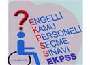 EKPSS'den faydalanamayan yatalak engelliler