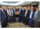 Malatya Esnaf Heyetinden TESK Genel Başkanı Palandöken'e ziyaret