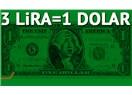 Paramızdan altı sıfır attık hala dolar üç lira; yoksa parayı mı kaldırıp atacaktık
