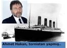 Ahmet Hakan, tornistan yapmış..