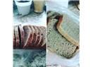 Eksi mayali dogal ekmek yapiyoruz.