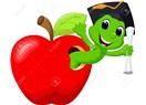 Kurtlu kırmızı elma