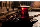 Şekersiz çay…