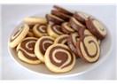 İki renkli (pervane) kurabiye