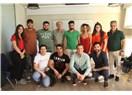 Usta oyuncu Altan Erkekli, Tümay Özokur Atölye'de öğrencilerle buluştu.