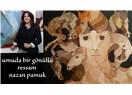 Umuda bir gönüllü ressam Nazan Pamuk