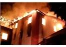 Adana Aladağ'da yurt yangını