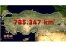 Arazinin şekli yüzölçümünü etkiliyor, 800 bin km Türkiye toprakları düz olsaydı 500 bin km olurdu