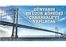 Çanakkale'ye köprü yerine tünel yapılsaydı...??