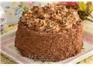 Krokanlı Çikolatalı Yaş Pasta