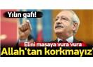 Kılıçdaroğlu'nun gafları kitap boyutunu aştı, ansiklopedi boyutuna ulaştı!...