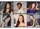 """Dünyanın """"En Güzel 100 Kadını"""" arasında beş Türk var!"""