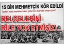 İngilizler 15 bin Mehmetçiğimizi işkence ile kör etmesi unutuldu mu?