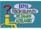 Engelli EKPSS atamaları ve üç aylıklaın kesilmesi sonucu sağlık güvence problemi