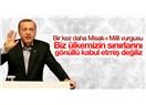 """Ortadoğu Haritası Yeniden Çizilirken, Türkiye'nin Milli Hedefi """"Misak-ı Milli"""" de Masada Olmalıdır.."""