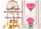Zamanı Doğru Nasıl Kullanırsınız? Zaman Tuzakları Neler?