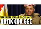"""TBMM'nin """"Tezkere""""si, Barzani'nin """"Teskere""""si Olacak!"""