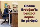 Clinton'ın Ecevit'in Karşısında Malum Oturuşuyla Obama'nın Erdoğan'la Beyzbol Sopalı Görüşmesi Aynı
