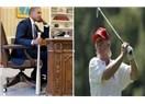 """Obama'da """"Beyzbol Sopası Trump'da """"Golf Sopası"""". Herkesin Elindeki..."""
