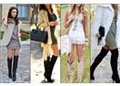 Kış Bitmeden Mutlaka Denemeli: Elbise ve Çizme Kombini
