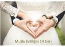 Mutlu Evliliğin 14 Sırrı