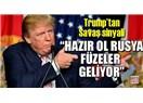 Trump'ın Füzeleri Yanlışlıkla(!) Mehmetçiğin Bulunduğu Afrin'e Düşmesin...