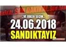 24 Haziran 2018 Seçimlerine Giderken Türkiye'nin Ana Problemleri